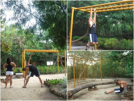 Bluewater Panglao Beach Resort Obstacle Course