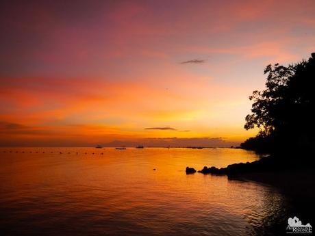 Bluewater Panglao Beach Resort Sunset