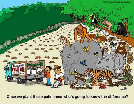 Cartoon guide to biodiversity loss XLI