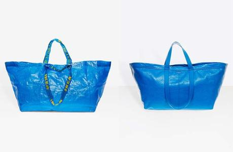 Ikea Responds To Balenciaga's Take On Blue Tote