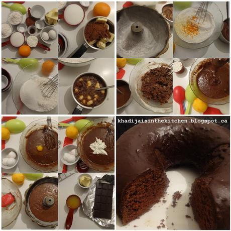 GÂTEAU AU CHOCOLAT ET YAOURT GREC / GREEK YOGURT CHOCOLATE CAKE / BIZCOCHO DE CHOCOLATE Y YOGUR GRIEGO / كيكة الشوكولاطة و الزبادي اليوناني