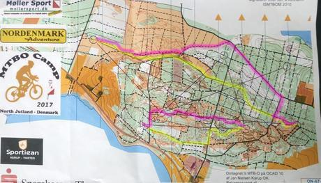 MTBO Camp 17 – Route Choice Training