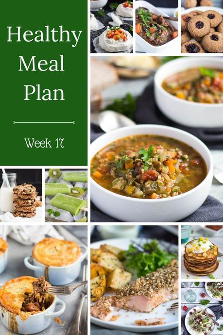 Healthy Weekly Meal Plan – Week 17