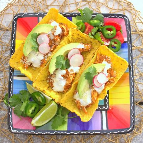 Chicken Tinga Chalupas