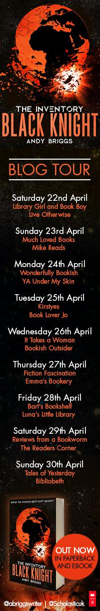 Blog Tour – Black Knight (The Inventory #3) – Andy Briggs