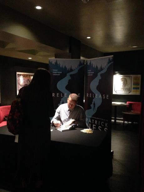 Patrick Ness Release Premiere @ Curzon Soho – Be more LA, YA! #BookLaunch
