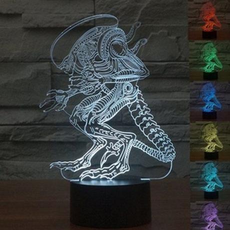 3D Touch Alien LED Light