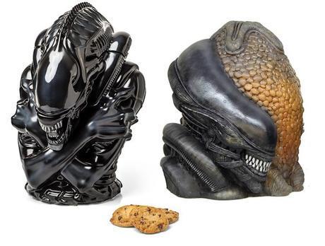 Alien Cookie Jars
