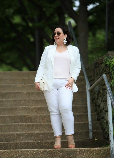 What I Wore: Whiter Shade of Pale