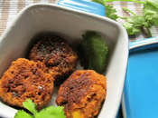 Zero-Fat Vegan Soya Chana Cutlets