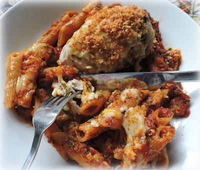 Skillet Chicken Parm