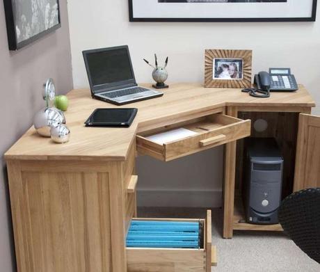 DIY L Shaped Desk For Your Home Office [corner Desk] - Paperblog