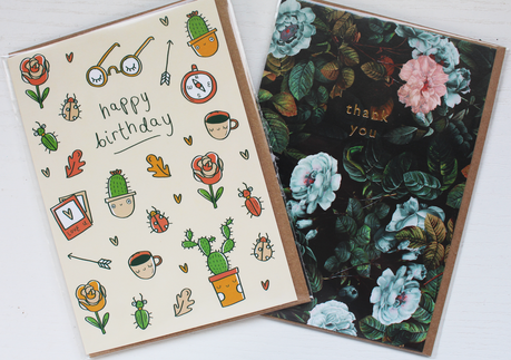My First Papergang Subscription Box: April 2017- Arden Rose X OhhDeer