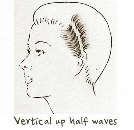 1940s-Hairstyle-tutorial---half-waves---vertical-up