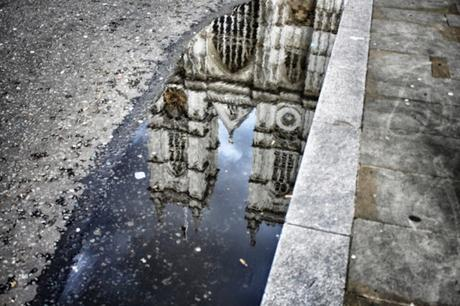50 Shots: A #London #Photoblog No.9. The Abbey Reflected