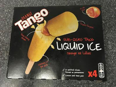 Today's Review: Tango Liquid Ice Lollies