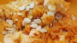 pumpkin seeds in pumpkin