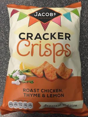 Today's Review: Jacob's Cracker Crisps Roast Chicken, Thyme & Lemon