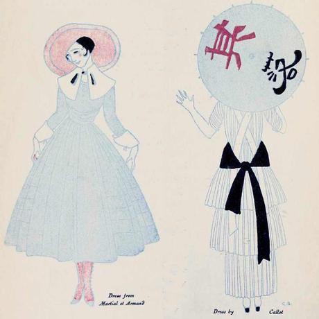 Paris-Fashion-during-First-World-War---1915-summer-dress
