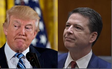 A political bombshell explodes as President Trump fires FBI director James Comey