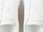 White Kicks Kick Around: Paul Smith Leather Trainers