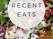 Food: Recent Eats