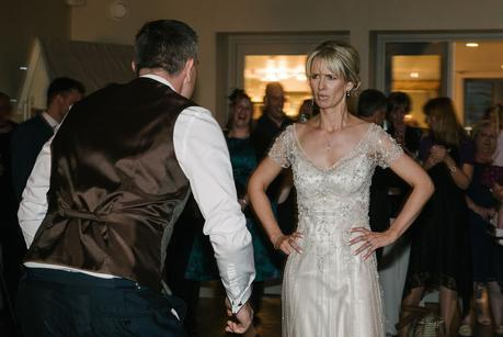 bride on her first dance