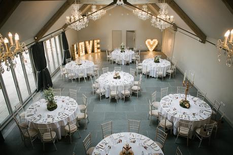 blackwell grange wedding reception room