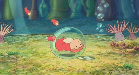 Ponyo-A-1 fish in bubble