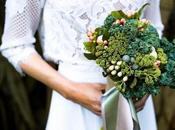 Mouth Watering Wedding Inspiration (Yep, It!) With Vege Bouquet