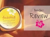 Review Fuschia Sandal Saffron Bath Salt