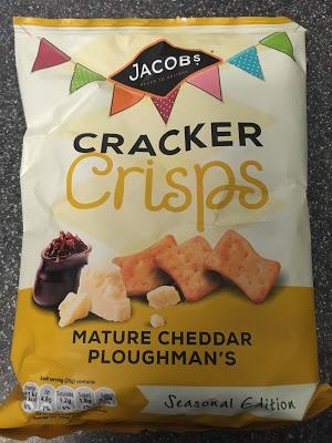 Today's Review: Jacob's Cracker Crisps Mature Cheddar Ploughman's