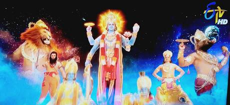 Om Namo Venkatesaya ~ Telegu Movie ~ Class ! on Hathiramji at holy Thirumala