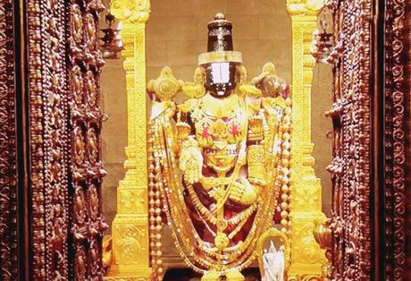 Om Namo Venkatesaya ~ Telegu Movie ~ Class ! on Hathiramji at holy Thirumala