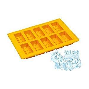 Image: Lego Ice Bricks Tray - 100% food grade silicone - oven safe - freezer safe