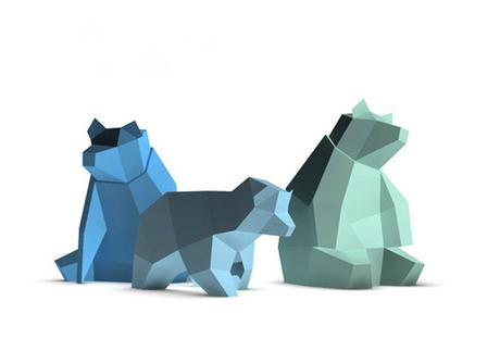 Paperwolf Bear Family