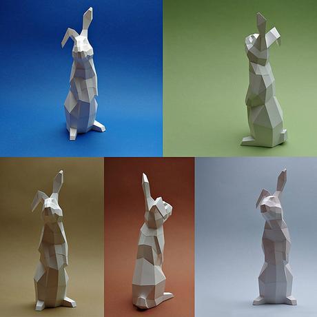 Paperwolf Rabbit Models