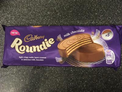 Today's Review: Cadbury Milk Chocolate Roundies