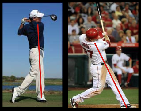 The good and bad of golf during baseball season