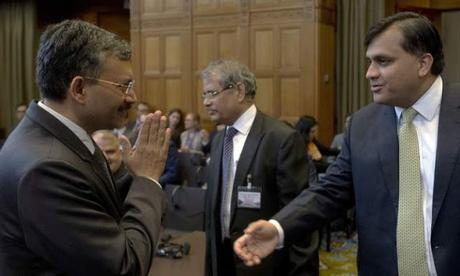 pleading in International Court of Justice for Kulbhushan ~ fee of Harish Salve