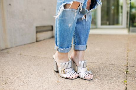 Ruffles and Ripped Jeans