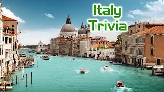 Italy Will Highlight Trivia This Week