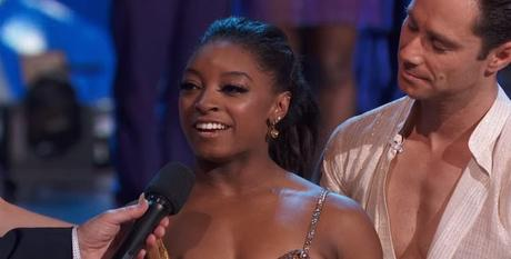 Simone Biles Shocking  Dancing With The Stars Elimination