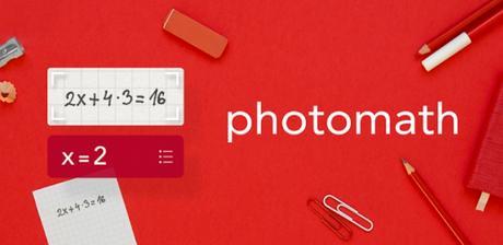 Photomath – Camera Calculator
