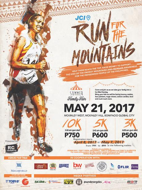 Run for the Mountains, and Support Lives