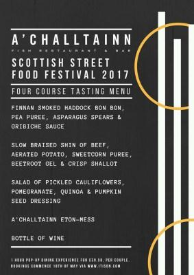 Event: Scottish Street Food Festival 2017