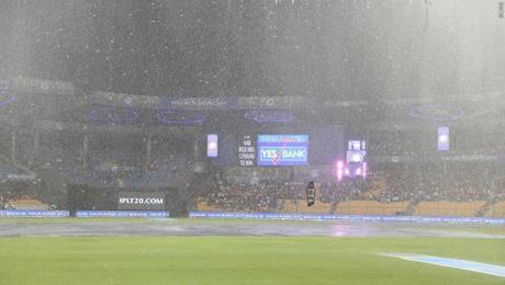Eliminator 2 - SRH out - KKR wins rain shortened match !