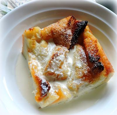Apricot Bread & Butter Pudding