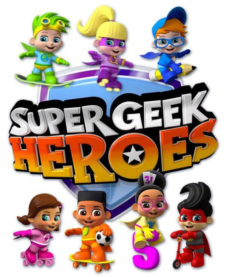 SuperGeek heros animated series + competition