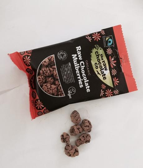 Raw chocolate snacks from the Raw chocolate company